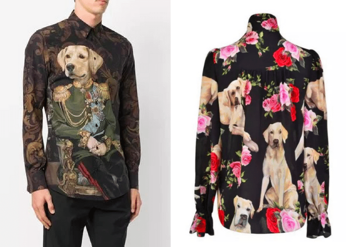 Dolce & Gabbana shirts Chinese New Year