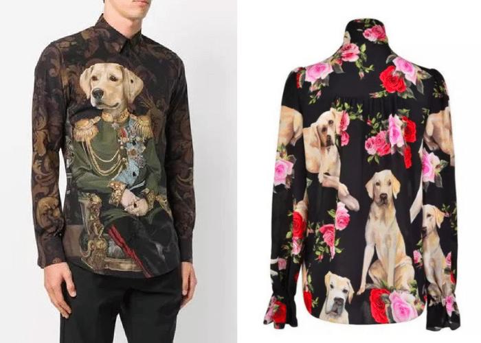 Dolce & Gabbana shirts Chinese New Year
