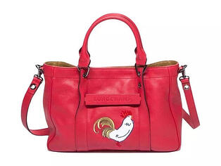 Longchamp rooster bag Chinese New Year