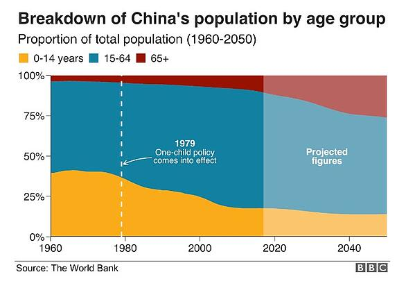 China internet population by age group