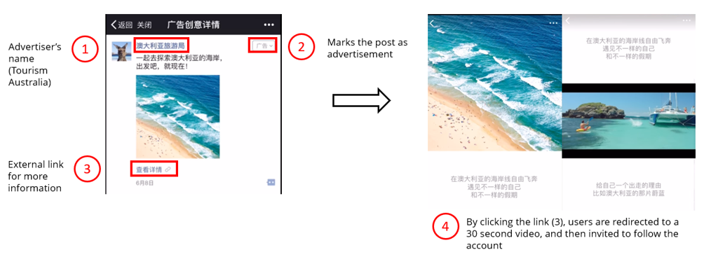 Tourism Australia WeChat advertising-1