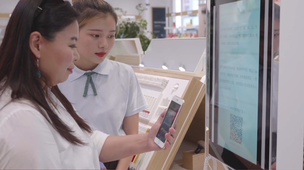 chinese offline shoppers